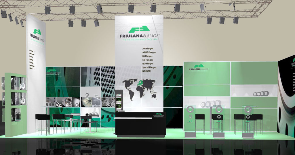 expomaniac Messebau trade show 3D Tube