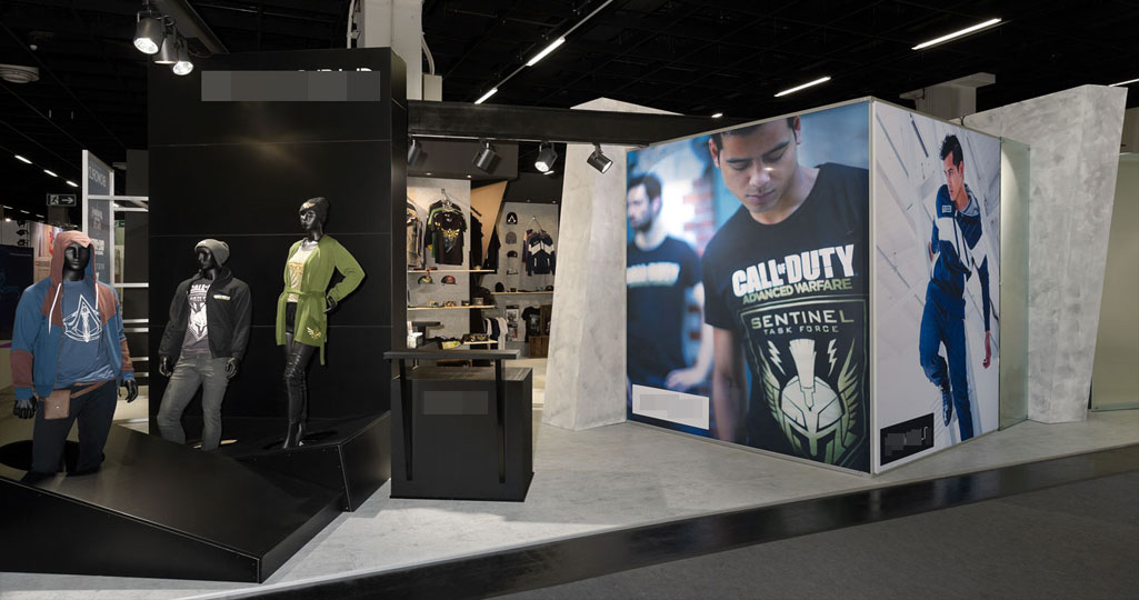 expomaniac Messebau trade show gamescom