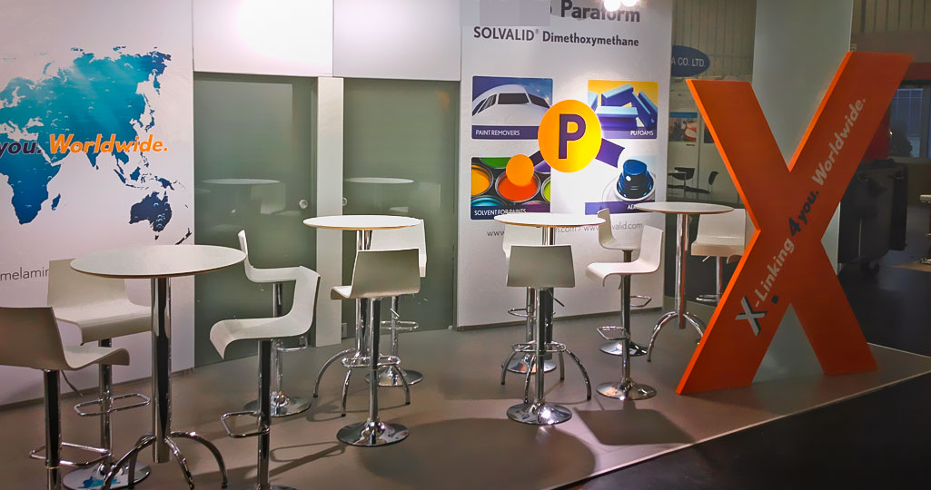 expomaniac Messebau trade European Coating Show