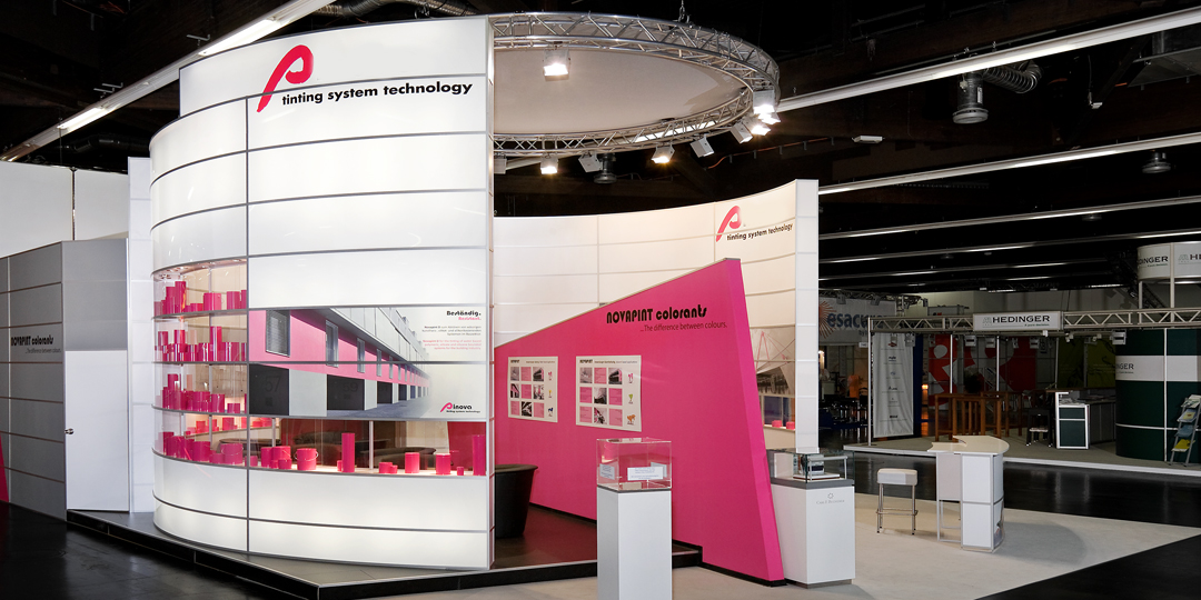 expomaniac Messebau trade show European Coating Show